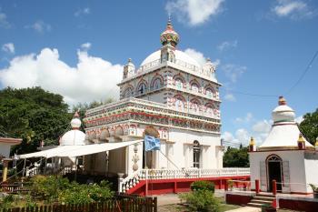 Hindu template in Mauritius