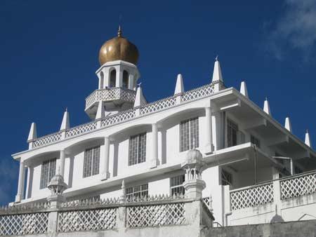 Jummah Mosque in Mauritius