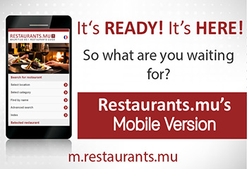 Restaurants.mu Mobile